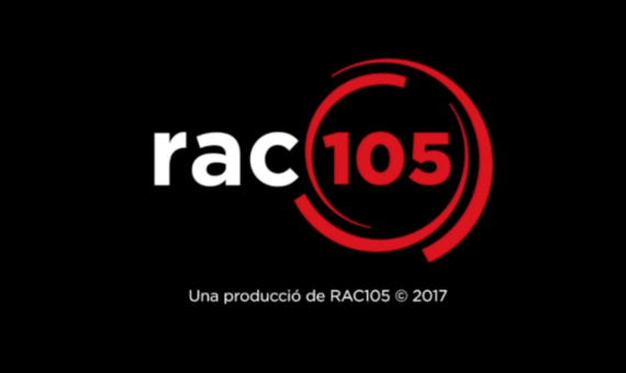 RAC105 logo animation